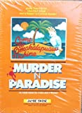 : Murder Mystery Party Kit from 1982 - Murder in Paradise by Jamie Swise