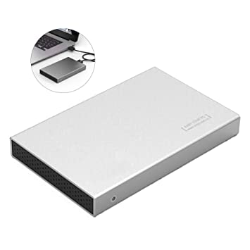 Traioy La Caja Disco Duro Externo USB 3.0 2,5 Pulgadas admite SSD ...
