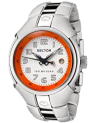 """Sector Men's R3253195045 """"195 Collection"""" Aluminum and Stainless Steel Watch"""