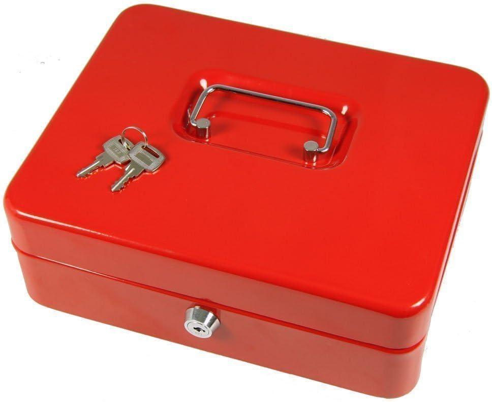 Cathédrale Ultimate Cash Box 12 pouces 30 cm le Secure Lock 3 Note bac 8 Coin Box