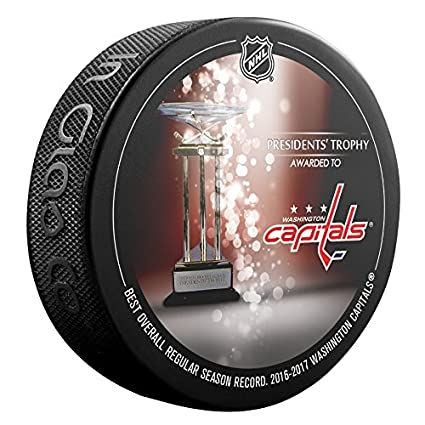 Image Unavailable. Image not available for. Color  2016-2017 Washington  Capitals Presidents Trophy Souvenir Hockey Puck c0b25cbba7ac