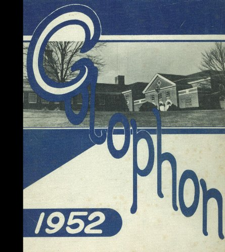 (Reprint) 1952 Yearbook: Wyomissing Area High School, Wyomissing, ()