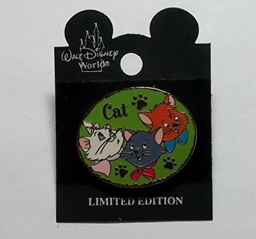 Disney Hidden Disney Pin - Disney Cast Lanyard Series Aristocats Pin, Trade only, not for sale, Pin Pic # 15329