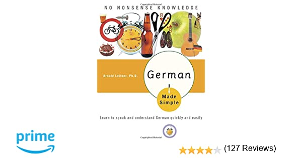 Amazon.com: German Made Simple: Learn to Speak and Understand ...