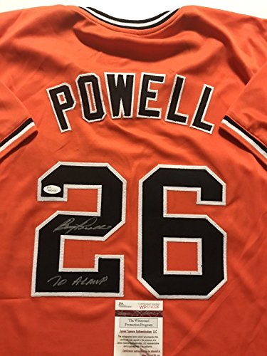 Autographed/Signed Boog Powell