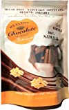 Xylitol Sweetened ORANGE Flavored Dark Chocolate, 15 pcs, 4.23 oz by Healthy Chocolate Company