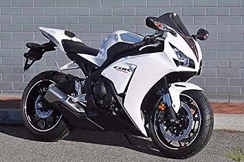 Amazon Com White W Black Fairing Injection For 2012 2015 Honda Cbr 1000 Rr 1000rr Cbr1000rr Automotive
