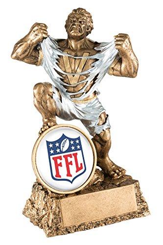 - Cat Fantasy Football League Monster Trophy/Hulk Award/FFL Victory (White Insert)