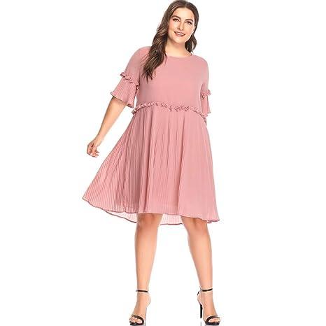 TDPYT Una Gran Falda Plisada/Vestido De Costura 4XL: Amazon.es ...