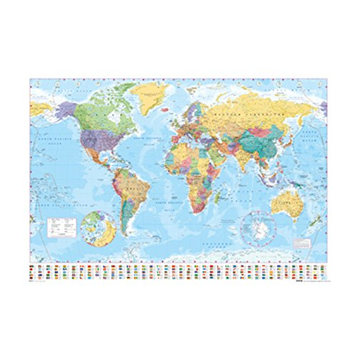 World Map Poster  PSA033057