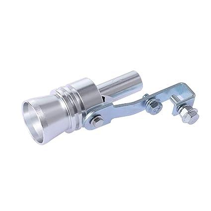 Vosarea Tubo de Silbato de Escape de Sonido de Turbo de Aleación de Aluminio Tubo de