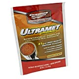 Champion Performance - UltraMet - Chocolate - High Protein Meal Supplement, Promotes Improved Nutrition and Supports Muscle Recovery - 60 packets - 76g each