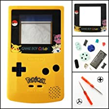 TBGS - Full Housing Shell Case Cover Replacement for Nintendo GBC Game Boy Color Limited Edition