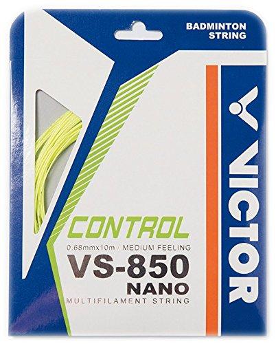 Victor Cordaje para bádminton VS-850 Nanotec yellow Set, amarillo, 10 m 197_7_1