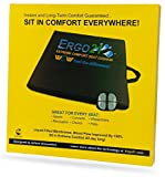 ERGO21 LiquiCell Sports Cushion - LiquiCell Improves Blood Flow - An aid for Back Pain, Sciatica, Pressure Sores, Numbness - Home, Office, Concerts, Wheelchairs - 4 Sizes Available