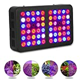 Exulight LED Grow Light, 300W Indoor Plant Light Full Spectrum with UV&IR for Greenhouse Hydroponic Indoor Plants Veg and Flower