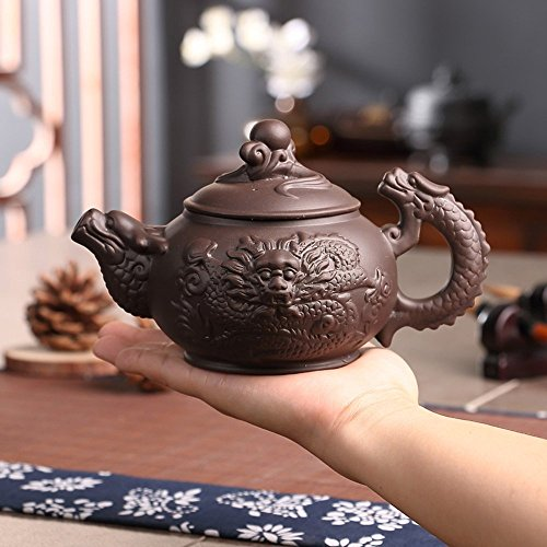 Making Memories Porcelain (XIDUOBAO Chinese Tranditional Kungfu Tea Pot Chinese Purple Clay Gongfu Tea Set Green Porcelain Tea Pot Ceramic Gongfu Tea Pot Home/office/travel Tea Pot.380 ml.)