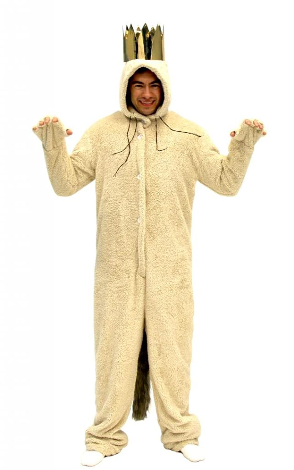 amazoncom where the wild things are max wolf adult costume clothing - Amazon Halloween Costumes Men