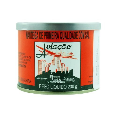 Butter with Salt - Manteiga com Sal - Aviação - 7oz 9 Pack by Aviacao