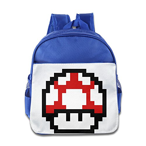 XJBD Custom Personalized Mario Teenager Shoulders Bag For 1-6 Years Old RoyalBlue