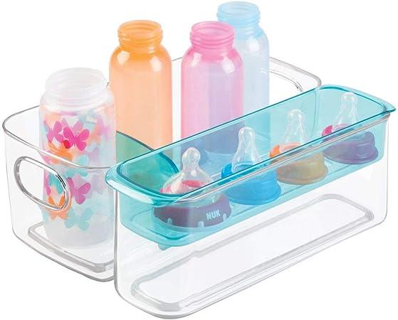 mDesign Caja organizadora para artículos de bebé - Organizador ...