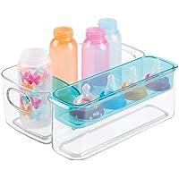 mDesign Caja organizadora para artículos de bebé