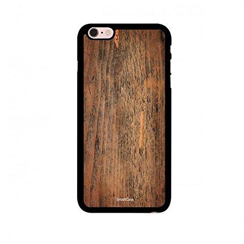 Coque + Verre Trempé pour iPhone 6/6S SmartCase® Motif Bois