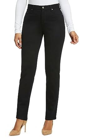 6c0c89ee1d55f Gloria Vanderbilt Amanda Ponte Pants (Black
