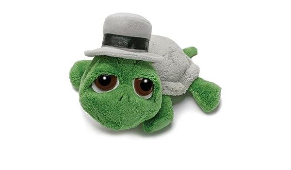 Russ Berrie Lil Peepers - Tortuga con sombrero (30,5 cm): Amazon.es: Juguetes y juegos