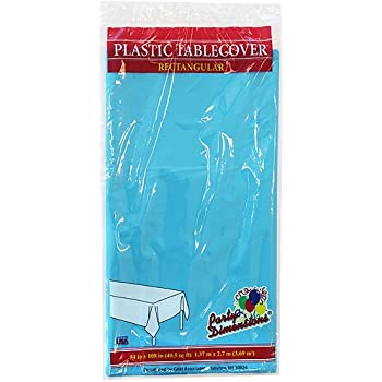 Compact Pkg. 1 Powder Blue Tablecover 50363