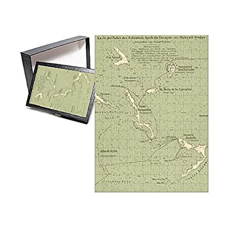 Christopher Columbus Map Route on