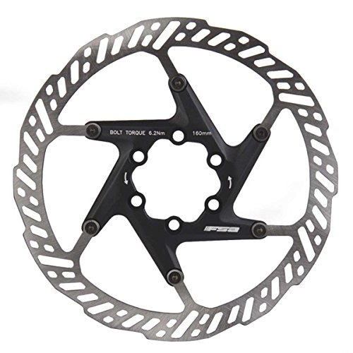 FSA K-Force Bicycle Disc Brake Rotors (2 Piece Rotor - 160mm 6-bolt)