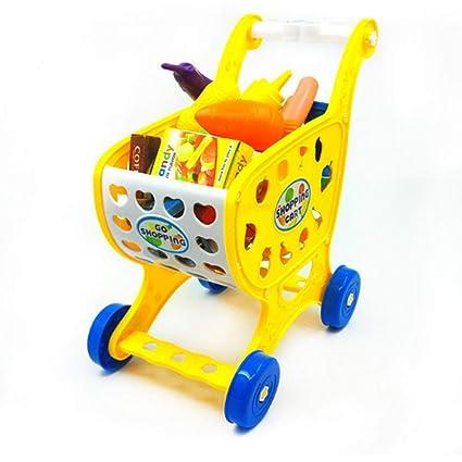 Juguete Carro de la compra para niños Rueda de carreta para niños Desarrollo intelectual Comunicación entre