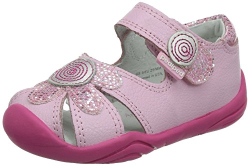 pediped Daisy Grip-N-Go Sandal (Toddler), Astor Pink Leather, 21 EU (5.5 M US Toddler)