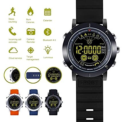 Amazon.com: New Bluetooth Smart Watch iOS Waterproof Relogio ...