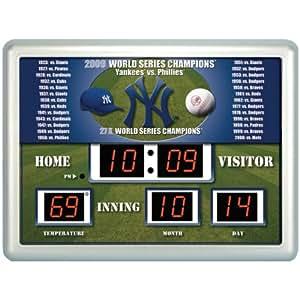 Amazon.com : MLB New York Yankees Scoreboard : Clocks ...  Yankees