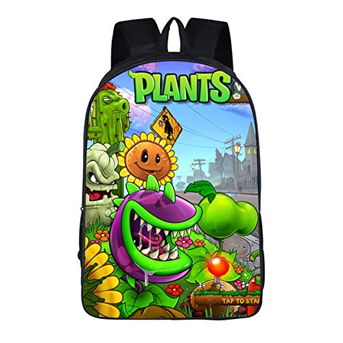 Gumstyle Plants vs. Zombies Anime Children Backpack Shouder School Bag 3]()