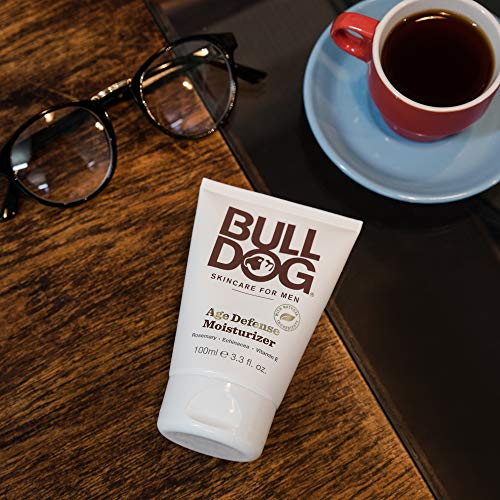 51eyGeSZgNL - Bulldog Mens Skincare and Grooming Age Defense Moisturizer, 3.3 Ounce