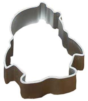 Galletas de aluminio para hornear de dibujos animados Moldes Mousse / Verduras / Frutas corte moldes fijados de 5, Pingüino: Amazon.es: Hogar