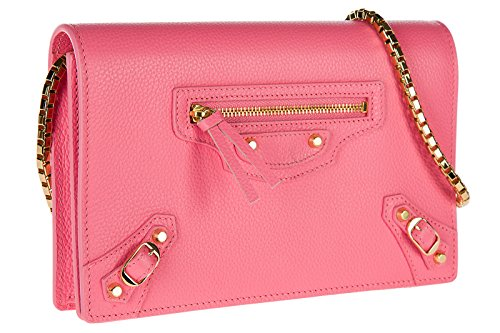 sac Balenciaga rose bandoulière en femme cuir gBCwqAB