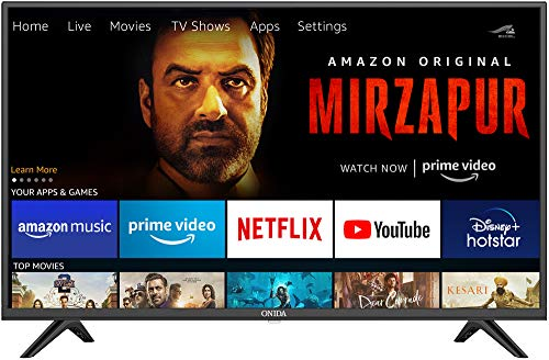 Onida 108 cm (43 inches) Full HD Smart IPS LED Fire TV 43FIF (Black) (2020 Model) | Voice Remote with Alexa