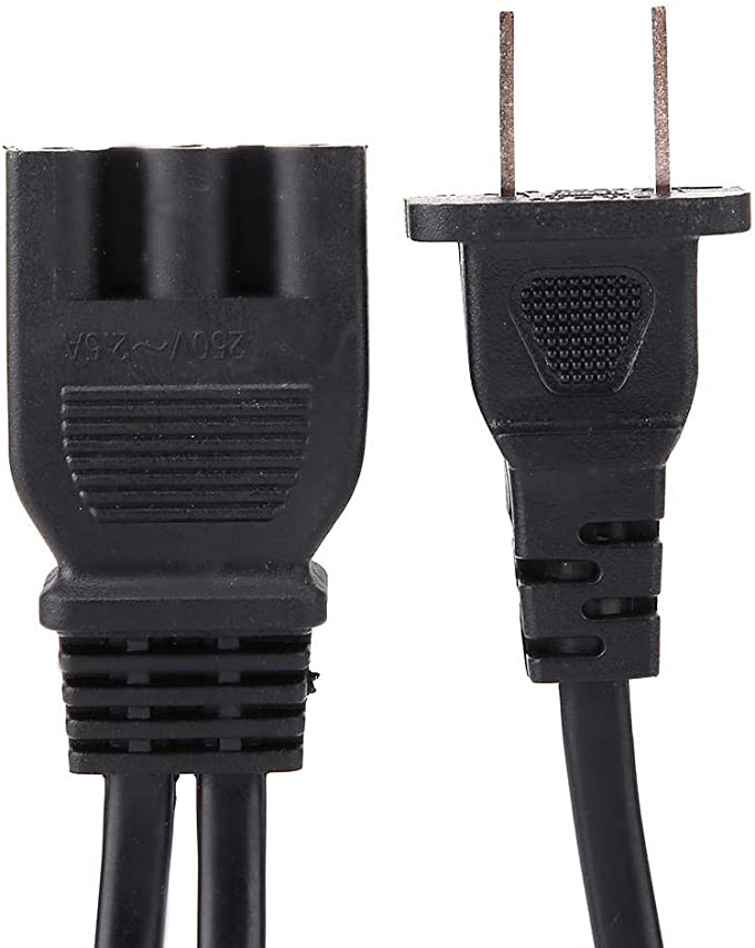Sewing Machine Foot Speed Control Pedal Power Cord US Plug Accessories Black NEW