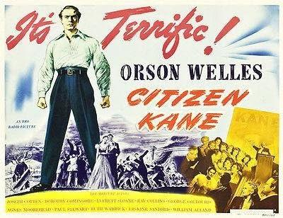 Amazon.com: Citizen Kane - 1941 - Movie Poster: Posters & Prints