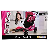 I'coo Doll stroller adjustable bassinet Grow with Me Doll
