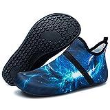 Barerun Unisex BarefootWater Sports Shoes Aqua Socks for Swim Beach Pool Surf Yoga 10-11 US Men