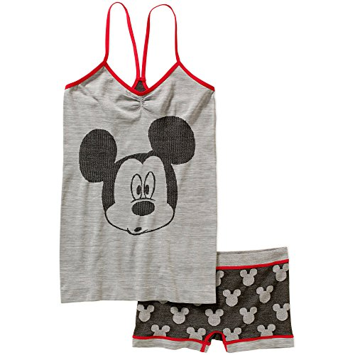 [Disney Mickey Mouse Cami and Panty Sleep Set For Women (3XL)] (Female Mickey Mouse Costumes)