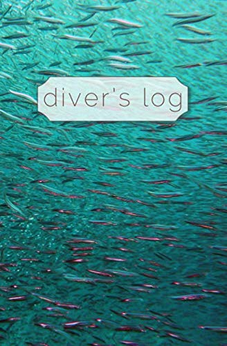 Diver's Log: Diving Log Book | 5.25 x 8 SCUBA Dive Record | Logbook | Soft-Cover Shark Bait