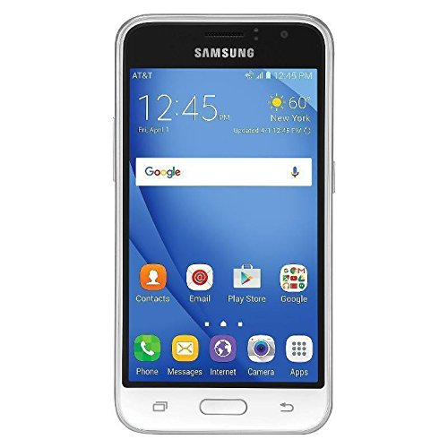 Samsung Express 3 J120a 4G LTE Unlocked GSM (White) (T Mobile Cell Phone Note 3)