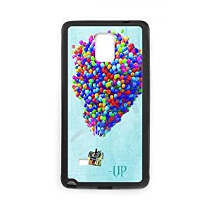 Aventura está ahí fuera Nota Funda caja del teléfono 4 Celular Funda Samsung Galaxy Diseño Negro cajas del teléfono celular A7J8PH