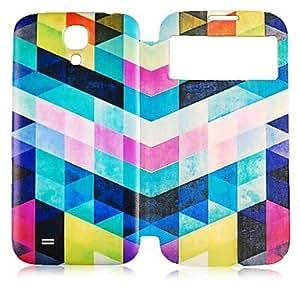 Teléfono Móvil Samsung - Carcasas de Cuerpo Completo - Color Sólido - para Samsung S3 I9300 ( Negro/Blanco/Verde/Rosado/Orange , Cuero PU ) , Orange